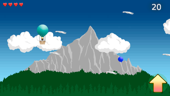 Balloon Run (screenshot)