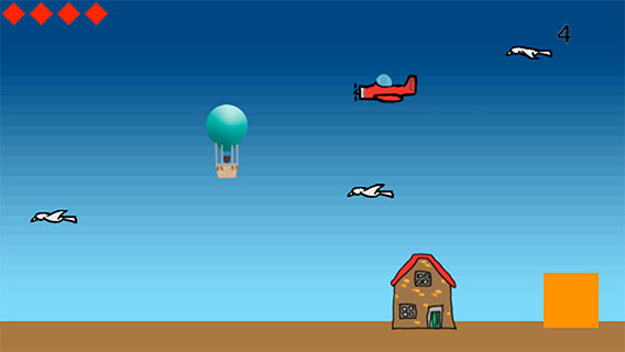 Balloon Run - prototype