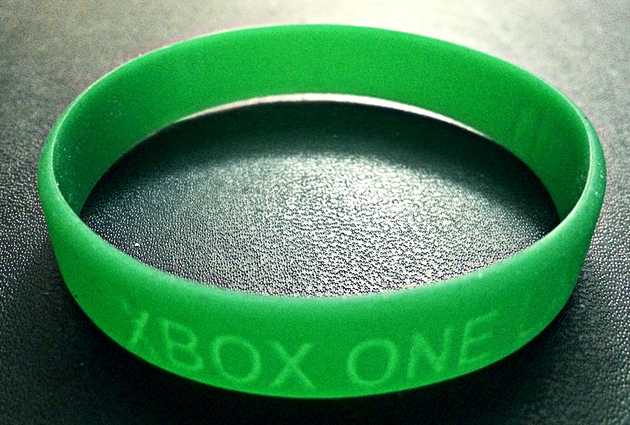 This was the invitation to the Xbox One launch party...
